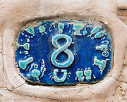 Ceramic numbers the number eight