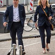 NLD/Amsterdam/20171014 - Besloten erdenkingsdienst overleden burgemeester Eberhard van der Laan, Theodoor Holman en ...........