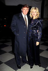 Jan. 1, 2011 - New York, New York, U.S. - K1122HMC          SD0403.DONALD TRUMP AND MARLA MAPLES.  /   1995(Credit Image: © Henry McGee/ZUMAPRESS.com)