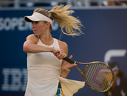 September 2, 2018 - Elina Svitolina of the Ukraine in action during her fourth-round match at the 2018 US Open Grand Slam tennis tournament. New York, USA. September 02th, 2018. (Credit Image: © AFP7 via ZUMA Wire)