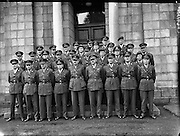 Army Officers for Lebanon at GHQ .23/09/1958 .