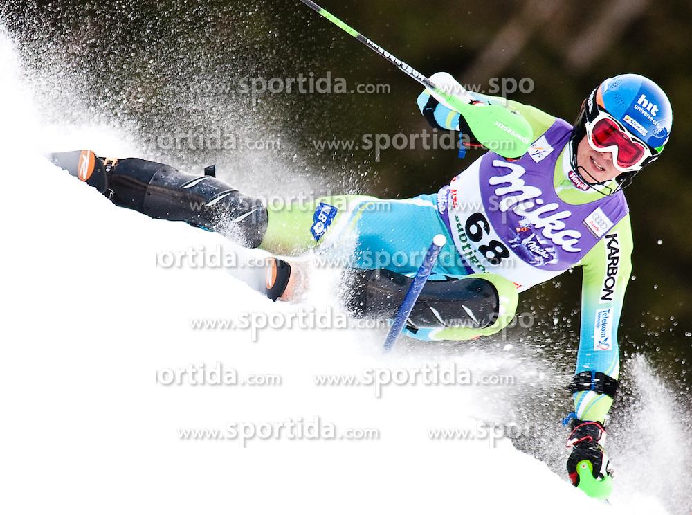 FIS Alpine Ski World Cup 2008 2009, Alta Badia Slalom der Herren, im Bild SKUBE Matic, Fiscode 561148, Year of Birth 1988, Nation SLO, Ski Rossignol, EXPA Pictures © 2008, Fotographer EXPA/J. Groder/ SPORTIDA PHOTO AGENCY