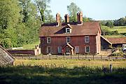 Church farm farmhouse building, Chillesford, Suffolk, England