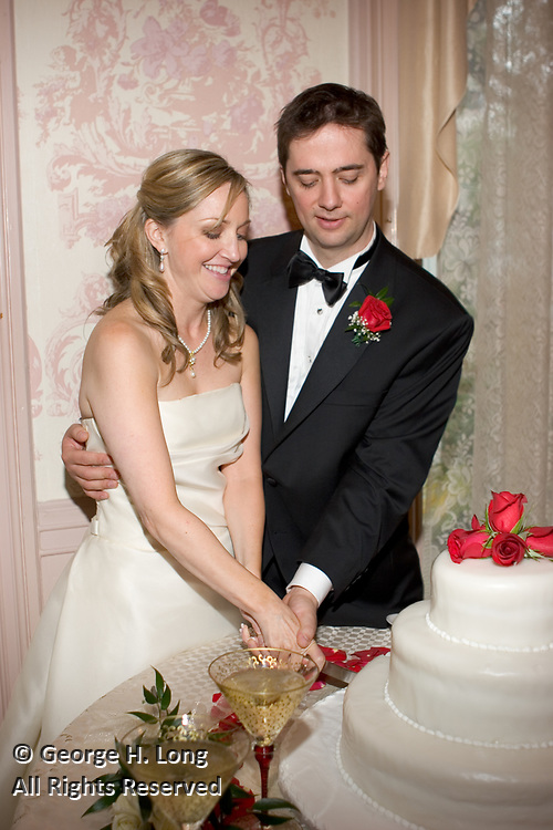 The wedding of Judith Armistead and Shawn Fitzpatrick on January 8, 2005