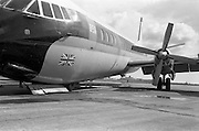 29/03/1963<br /> 03/29/1963<br /> 29 March 1963<br /> B.E.A. Aircrash at Dublin Airport. The crashed BEA Vanguard G-APEJ that carried 43 passengers and seven crew from London to Dublin. The Airport Terminal can be seen 1/2 mile in background. Photos, Photo, Snap, Streets, Street,