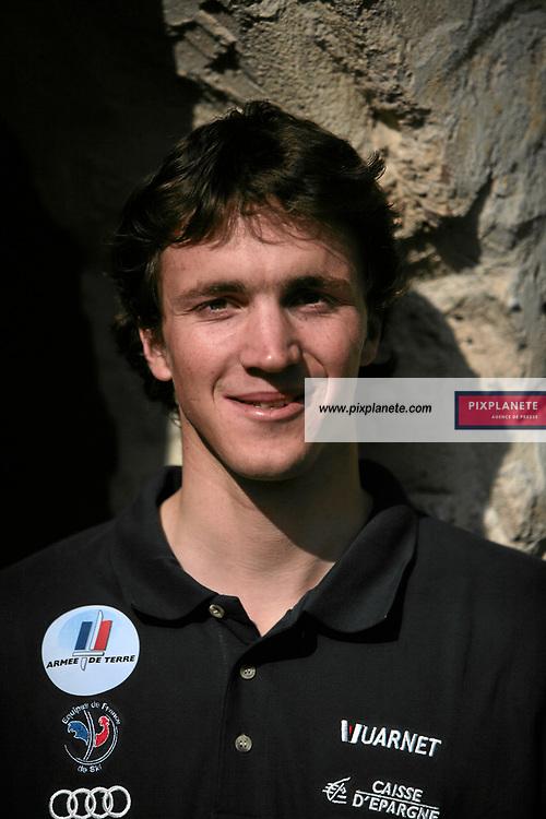 Steve Missillier - Ski Alpin - présentation de l'équipe de France de ski 2007-2008 - Photos exclusives - 9/10/2007 - JSB / PixPlanete