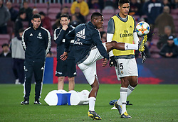 February 6, 2019 - Barcelona, Spain - Vinicius Junior during the match between FC Barcelona and Real Madrid corresponding to the first leg of the 1/2 final of the spanish cup, played at the Camp Nou Stadium, on 06th February 2019, in Barcelona, Spain. (Credit Image: © Joan Valls/NurPhoto via ZUMA Press)
