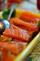 Cured salmon (Gravad lax, Gravlax)