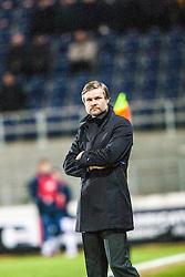 Steven Pressley, Falkirk manager..Falkirk 1 v 1 Raith Rovers, 5/3/2013.