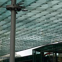 Europe, Germany, Hamburg. hamburg Bus Station.