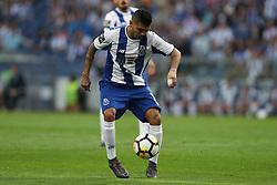 April 23, 2018 - Porto, Porto, Portugal - Porto's Mexican forward Jesus Corona in action during the Premier League 2016/17 match between FC Porto and Vitoria FC, at Dragao Stadium in Porto on April 23, 2018. (Credit Image: © Dpi/NurPhoto via ZUMA Press)