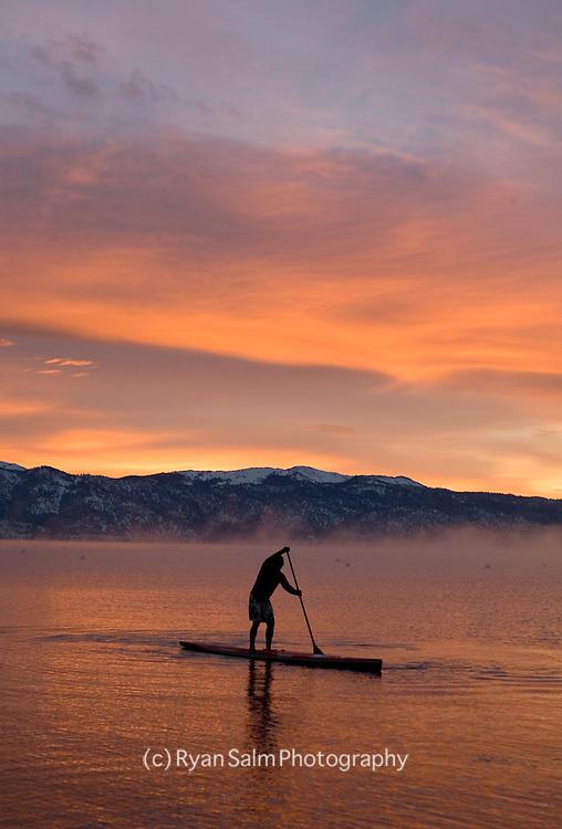 Winter Paddle on Tahoe- Jake Lamberth