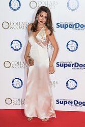 "Battersea, London, November 3rd 2016.  Celebrities and their dogs attend The Evolution at Battersea Park to attend The Battersea Dogs and Cats Home ""Collars and Coats Ball"". PICTURED: Danielle Bux"