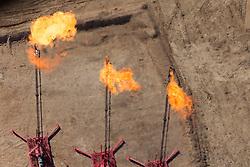 Gas flaring, Cotulla, TX