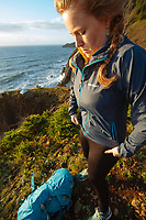Oregon Coast Trail. Oswald West State Park, OR