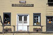 Sebastian's Store (1852 - California state historic landmark), San Simeon, California