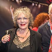 NLD/Amsterdam/20171002 - remiere Liesbeth List de Musical, Willeke van Ammelrooy en partner Marco Bakker