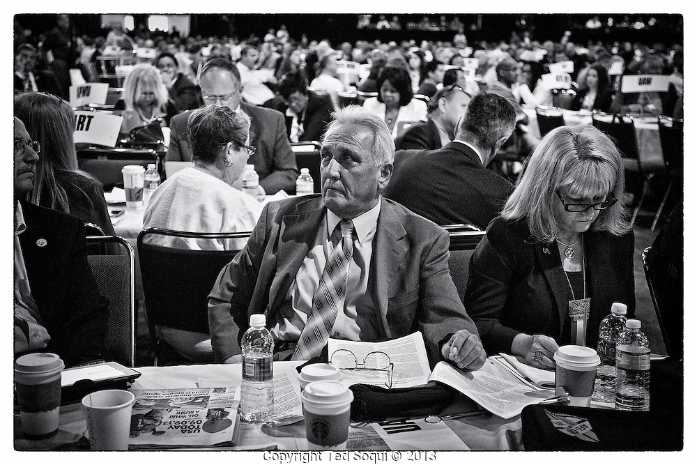 The AFL-CIO convention opens in Los Angeles.