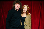 Bonnie Raitt with Terry Currier, owner of Music Millennium in Portland, Oregon on April 16, 2016 (Record Store Day). The store hosted a meet-and-greet with Ms. Raitt in support of Oregon Music Hall Of Fame's 'Music In The Schools' Program.