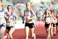 Friidrett ,  11. juni 2015 , Diamond League , Bislett Games , Oslo<br />  Atheltics<br /> 1500 m<br /> Maria Larsen , DEN