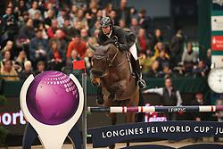 Delaveau Patrice, (FRA), Lacrimoso 3 Hdc<br /> Longines FEI World Cup<br /> CSIO Leipzig 2016<br /> © Hippo Foto - Stefan Lafrentz