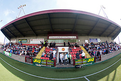 Ochilview Park, in Stenhousemuir, is the home ground of Scottish Second Division club, Stenhousemuir, and who currently share it with local rivals East Stirlingshire. East Stirlingshire 0 v 2 Queen's Park, Saturday 11th August, 2012.