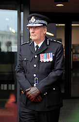© Licensed to London News Pictures. 22/11/2012. Bristol, UK.  Colin Port, chief constable of Avon & Somerset police who today announced he would not renew his contract in January 2013.  This follows on from the election of Sue Mountstevens the new police and crime commissioner for Avon & Somerset police who started in her new post this week.  Colin Port was present for the visit of the Queen Elizabeth ll and the Duke of Edinburgh to MShed museum in Bristol dockside.  22 November 2012..Photo credit : Simon Chapman/LNP