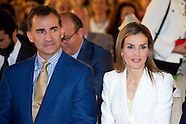 """0670314 Spanish Royals Delivery of """"Scholarships and Research Grants"""" of Iberdrola Foundation"""