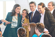 022820 Queen Letizia attends Proclamation of the winner of '2020 Princess of Girona Foundation'