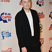 Roman Kemp arrives at Capital's Jingle Bell Ball with Coca-Cola at London's O2 Arena on 9th December 2018, London, UK.