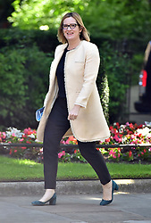 Home Secretary Amber Rudd arrives at 10 Downing Street in London for a Cabinet meeting.