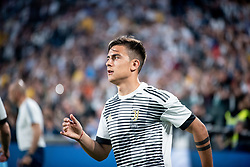 April 22, 2018 - Turin, Piedmont/Turin, Italy - Paulo Dybala durig the Serie A match Juventus FC vs Napoli. Napoli won 0-1 at Allianz Stadium, in Turin, Italy 22nd april 2018 (Credit Image: © Alberto Gandolfo/Pacific Press via ZUMA Wire)
