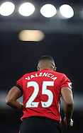 Antonio Valencia of Manchester United during the Premier League match at Goodison Park, Liverpool. Picture date: December 4th, 2016.Photo credit should read: Lynne Cameron/Sportimage