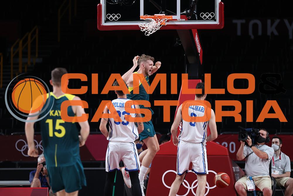 Landale Jock<br /> Italia Italy - Australia Australia<br /> Olimpiadi Estive Tokyo 2020 - Fase a Gironi<br /> 2020 Summer Olympic Games - Group Phase<br /> Tokyo, 28/07/2021<br /> Foto A.Mehryar / Ciamillo-Castoria