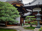 The Ayaco Tenmangu Shrine which is said to be the predesessor of Kitano Tenmangu Shrine, Kyoyo, Japan