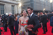 SUMMER STRALLEN; tom chambers,, Olivier Awards 2012, Royal Opera House, Covent Garde. London.  15 April 2012.