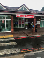 a very empty accident and emergency dept at warwick hospital photo by Brad Jennings
