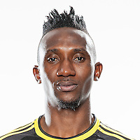 Feb 25, 2016; USA; Columbus Crew player Harrison Afful poses for a photo. Mandatory Credit: USA TODAY Sports