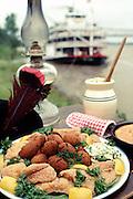 Southern food, Natzhez, MS.