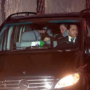 ITA/Bracchiano/20061118 - Huwelijk Tom Cruise en Katie Holmes, aankomst familie
