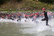The 2018 NZ Tri Corsair Classic doubled as the NZ Champs. Held at Corsair Bay, Christchurch in near 30C temperatures. <br /> Photo by Kevin Clarke CMG SPORT ACTION IMAGES<br /> ©cmgsport2018