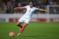 Alex Scott (England) during the Euro 2017 qualifier between England Ladies and Belgium Ladies at the New York Stadium, Rotherham, England on 8 April 2016. Photo by Mark P Doherty.