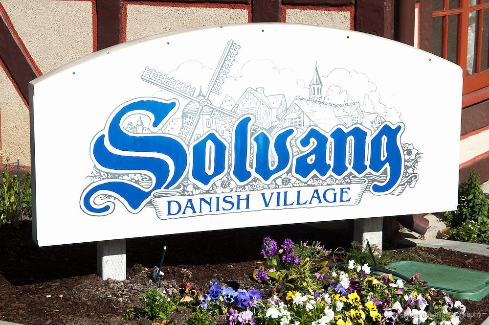 California Central Coast Solvang Danish Village