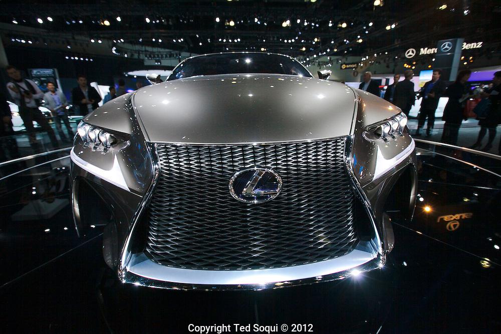 LA Auto Show press preview at the LA Convention Center..Lexus LF-CC concept vehicle..
