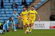 Wimbledon defender Will Nightingale (5) in action  during the EFL Sky Bet League 1 match between Coventry City and AFC Wimbledon at the Ricoh Arena, Coventry, England on 12 January 2019.
