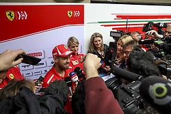 November 8, 2018 - Sao Paulo, Brazil - Motorsports: FIA Formula One World Championship 2018, Grand Prix of Brazil World Championship;2018;Grand Prix;Brazil ,   , #5 Sebastian Vettel (GER, Scuderia Ferrari) (Credit Image: © Hoch Zwei via ZUMA Wire)
