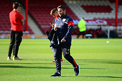 Bristol City head coach Lee Johnson arrives at Griffin Park - Mandatory by-line: Dougie Allward/JMP - 15/08/2017 - FOOTBALL - Griffin Park - Brentford, England - Brentford v Bristol City - Sky Bet Championship