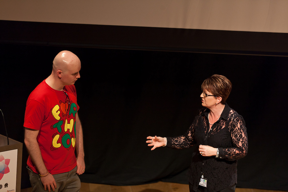 Photographs of the Young Creative Launch 2012 at Nottingham Contemporary