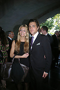 Riccarda Pohl and Moritz Pohll. The opening of ' Princely Spendour: The Dresden Court 1580-1620' The Gilbert Collection, Somerset House. London. 8 June 2005. ONE TIME USE ONLY - DO NOT ARCHIVE  © Copyright Photograph by Dafydd Jones 66 Stockwell Park Rd. London SW9 0DA Tel 020 7733 0108 www.dafjones.com
