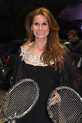 April 20, 2018 - Monte Carlo, MONACO, FRANCE - Isabell Kristensen - Grande Nuit du tennis. Diner-Spectacle organise dans la magnifique Salle des Etoiles du Sporting Monte-Carlo. En presence des joueurs et des partenaires du tournoi. (Credit Image: © Panoramic via ZUMA Press)
